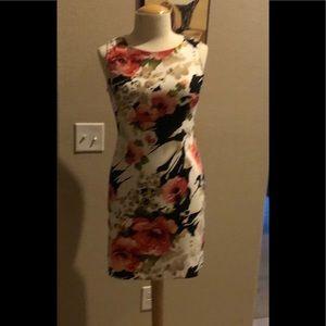A beautiful flower dress